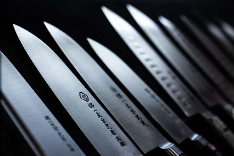 La importancia de utilizar cuchillos afilados