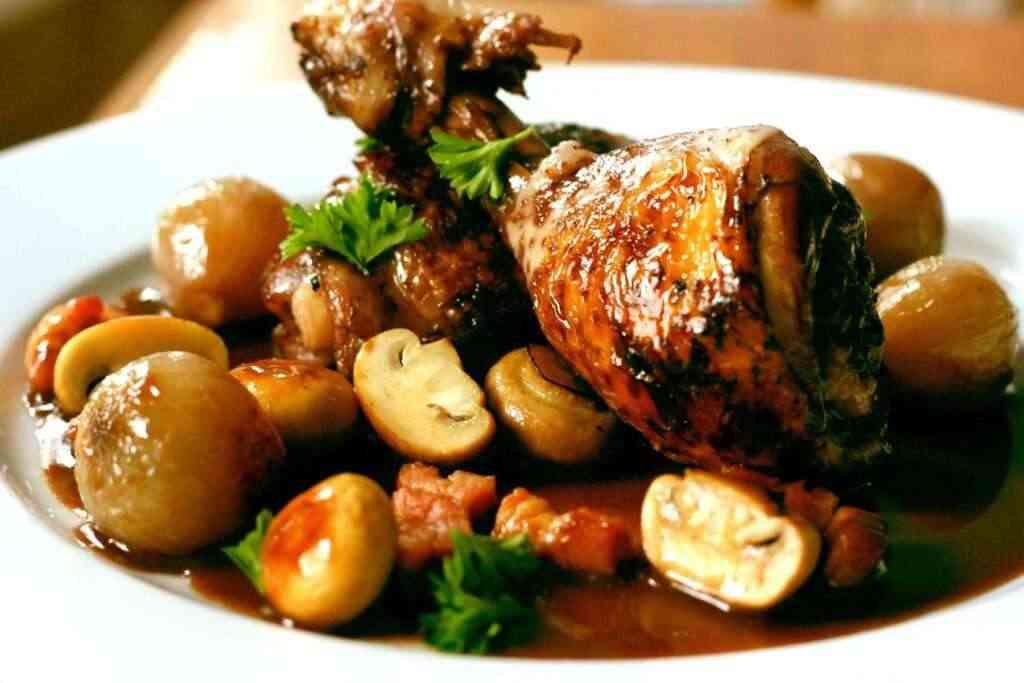 pollo a la cerveza | Cuchillos de Albacete